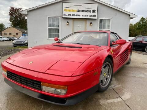 1990 Ferrari Testarossa for sale at COLUMBUS AUTOMOTIVE in Reynoldsburg OH