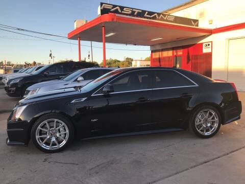 2010 Cadillac CTS-V for sale at FAST LANE AUTO SALES in San Antonio TX