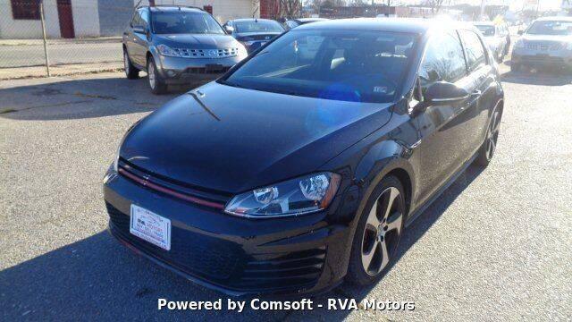 2015 Volkswagen Golf GTI for sale at RVA MOTORS in Richmond VA
