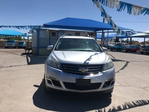 2015 Chevrolet Traverse for sale at Autos Montes in Socorro TX
