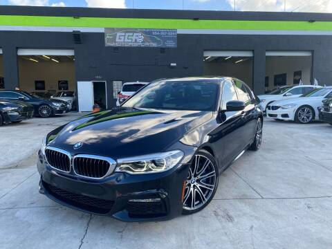 2017 BMW 5 Series for sale at GCR MOTORSPORTS in Hollywood FL