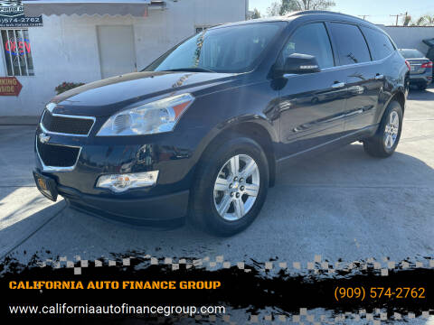 2011 Chevrolet Traverse for sale at CALIFORNIA AUTO FINANCE GROUP in Fontana CA