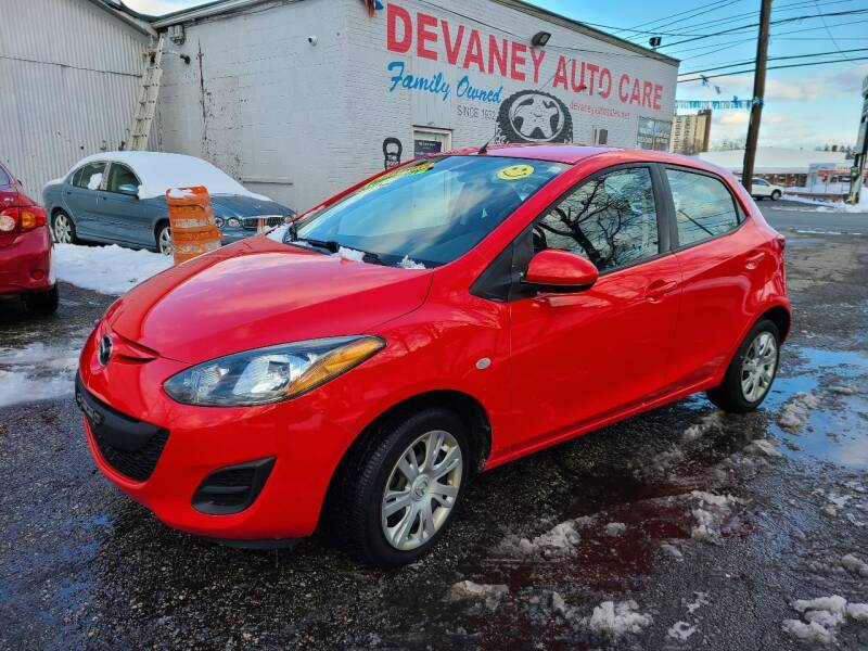 2012 Mazda MAZDA2 for sale at Devaney Auto Sales & Service in East Providence RI