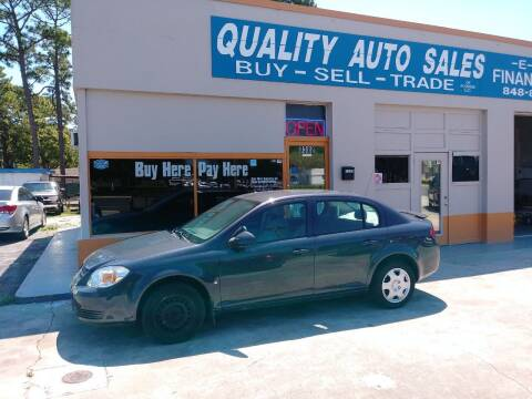 2008 Chevrolet Cobalt for sale at QUALITY AUTO SALES OF FLORIDA in New Port Richey FL