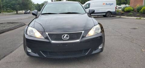2008 Lexus IS 250 for sale at Russo's Auto Exchange LLC in Enfield CT