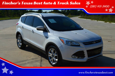 2015 Ford Escape for sale at Fincher's Texas Best Auto & Truck Sales in Tomball TX