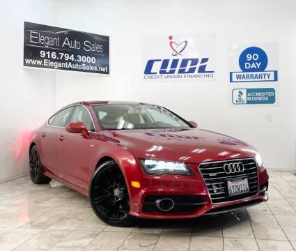 2013 Audi A7 for sale at Elegant Auto Sales in Rancho Cordova CA