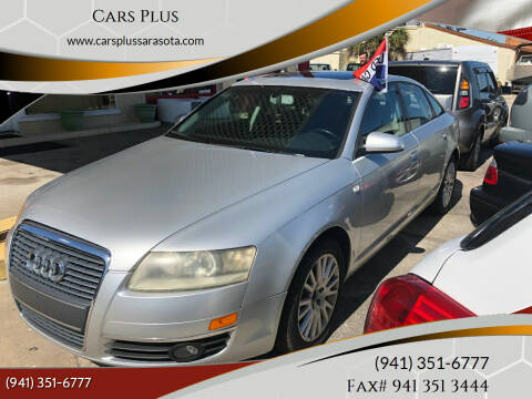 2006 Audi A6 for sale at Cars Plus in Sarasota FL