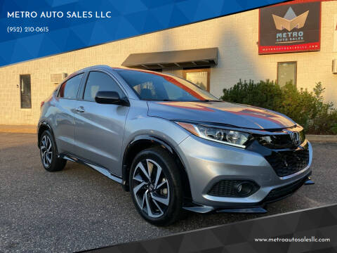 2019 Honda HR-V for sale at METRO AUTO SALES LLC in Blaine MN