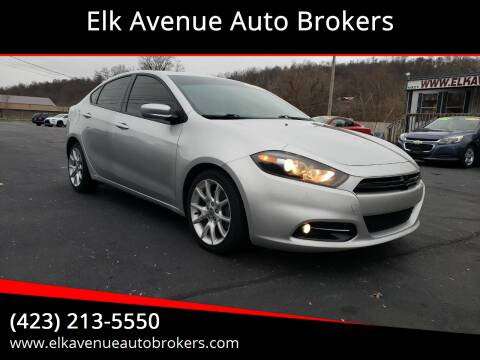 2013 Dodge Dart for sale at Elk Avenue Auto Brokers in Elizabethton TN