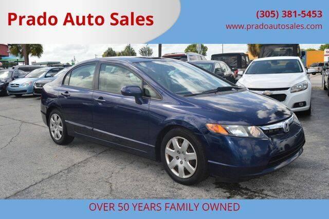 2006 Honda Civic for sale at Prado Auto Sales in Miami FL