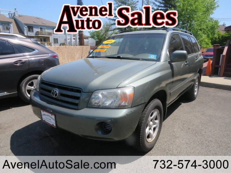 2006 Toyota Highlander for sale in Avenel, NJ