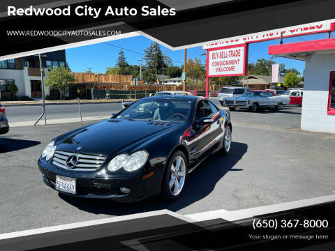 2004 Mercedes-Benz SL-Class for sale at Redwood City Auto Sales in Redwood City CA