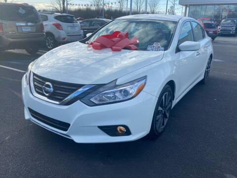 2018 Nissan Altima for sale at Charlotte Auto Group, Inc in Monroe NC