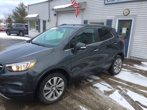 2017 Buick Encore for sale at CLARKS AUTO SALES INC in Houlton ME