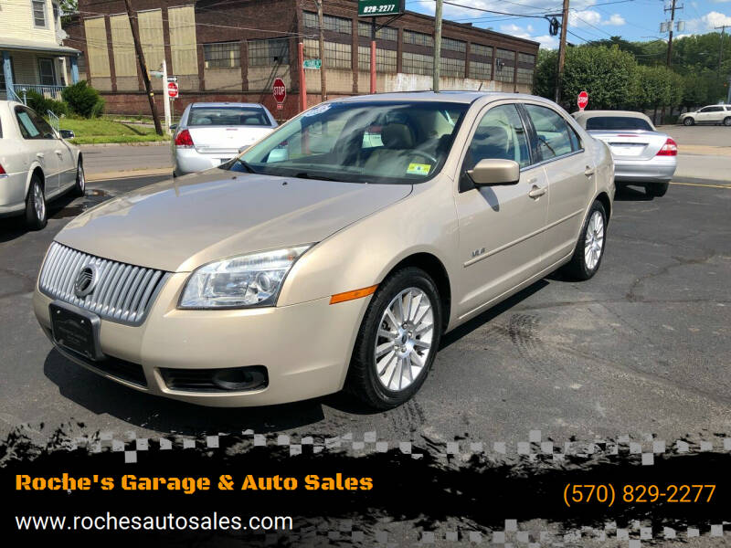 2008 Mercury Milan for sale at Roche's Garage & Auto Sales in Wilkes-Barre PA