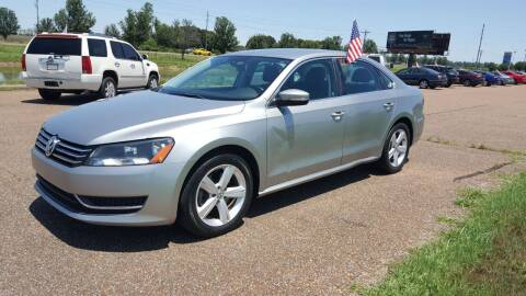 2013 Volkswagen Passat for sale at The Auto Toy Store in Robinsonville MS