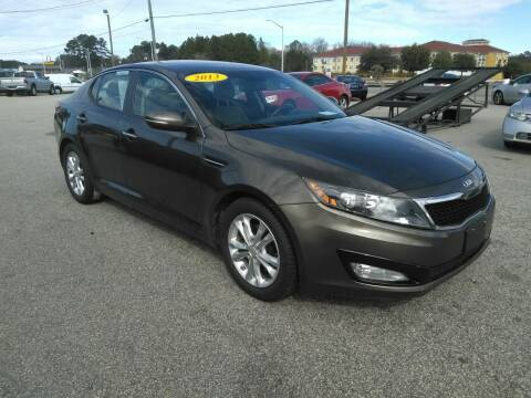 2013 Kia Optima for sale at Kelly & Kelly Supermarket of Cars in Fayetteville NC
