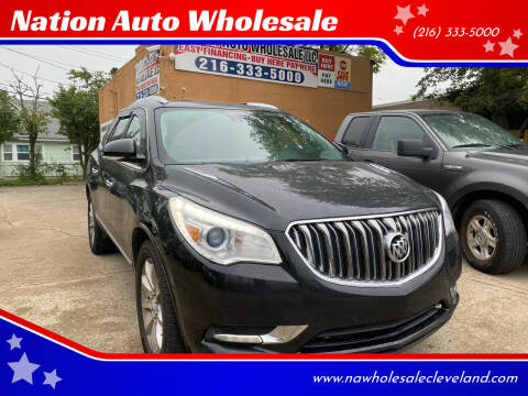 2014 Buick Enclave for sale at Nation Auto Wholesale in Cleveland OH