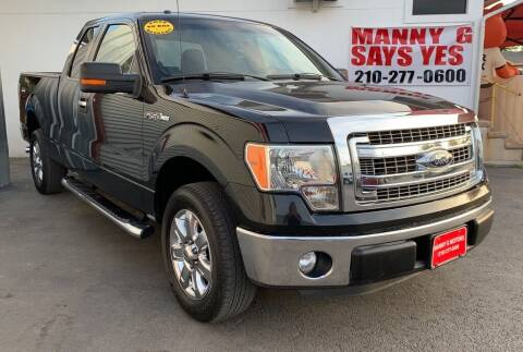 2014 Ford F-150 for sale at Manny G Motors in San Antonio TX