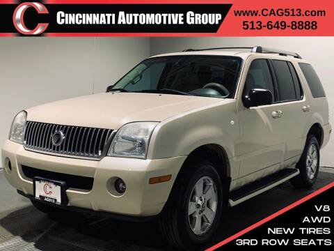 2005 Mercury Mountaineer for sale at Cincinnati Automotive Group in Lebanon OH