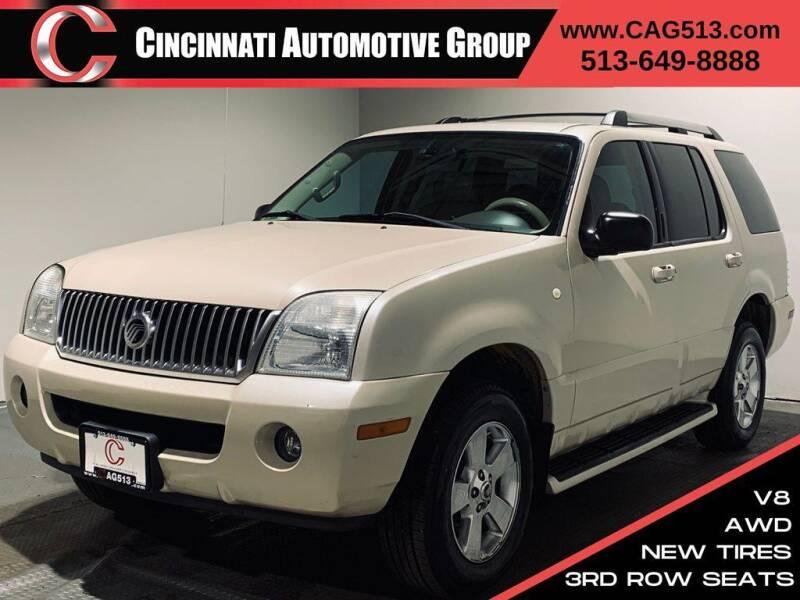 2005 Mercury Mountaineer for sale at Cincinnati Automotive Group in Lebanon OH