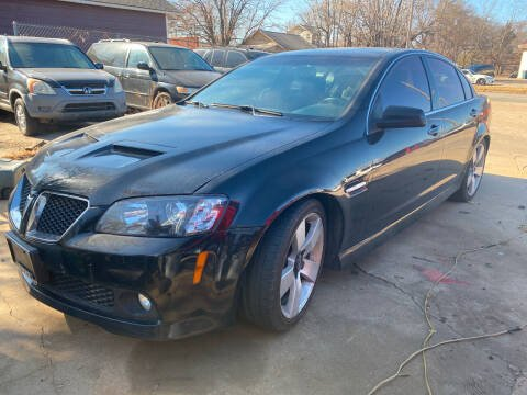 2009 Pontiac G8 for sale at Hall's Motor Co. LLC in Wichita KS