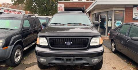 2002 Ford Expedition for sale at Frank's Garage in Linden NJ