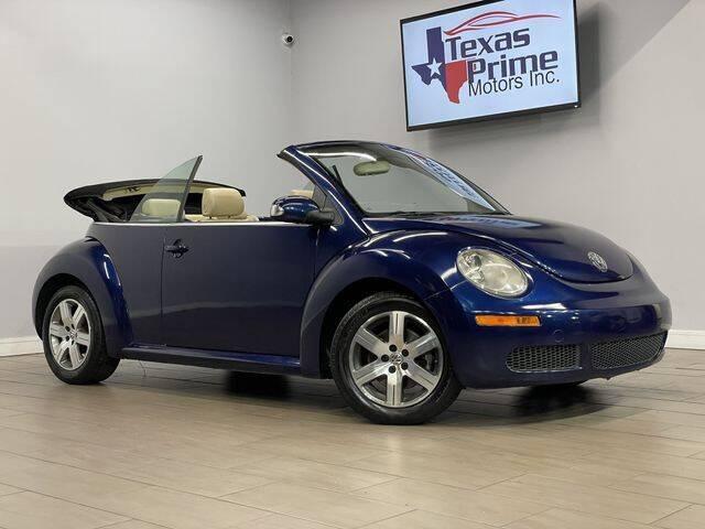 2006 Volkswagen New Beetle Convertible for sale in Houston, TX