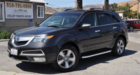 2013 Acura MDX for sale at AMC Auto Sales, Inc. in Fremont CA