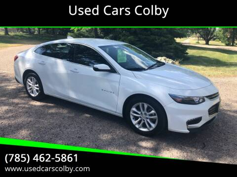 2018 Chevrolet Malibu for sale at Used Cars Colby in Colby KS