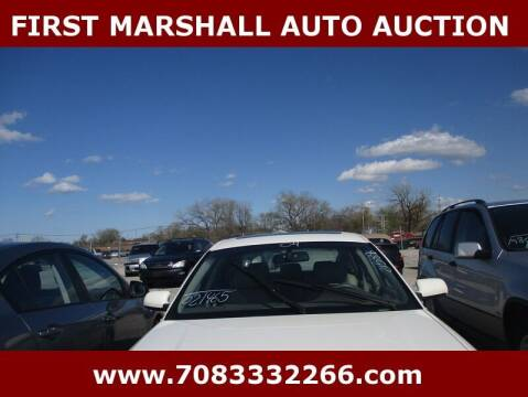 2004 Audi A6 for sale at First Marshall Auto Auction in Harvey IL