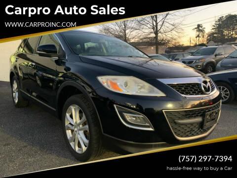 2011 Mazda CX-9 for sale at Carpro Auto Sales in Chesapeake VA