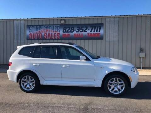 2009 BMW X3 for sale at Stikeleather Auto Sales in Taylorsville NC