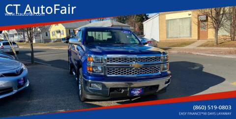 2014 Chevrolet Silverado 1500 for sale at CT AutoFair in West Hartford CT