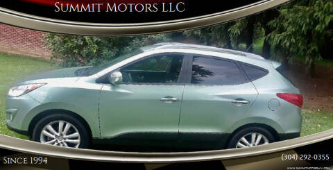 2011 Hyundai Tucson for sale at Summit Motors LLC in Morgantown WV