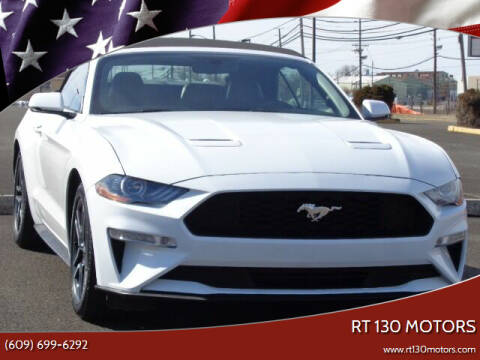 2020 Ford Mustang for sale at RT 130 Motors in Burlington NJ