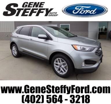 2021 Ford Edge for sale at Gene Steffy Ford in Columbus NE