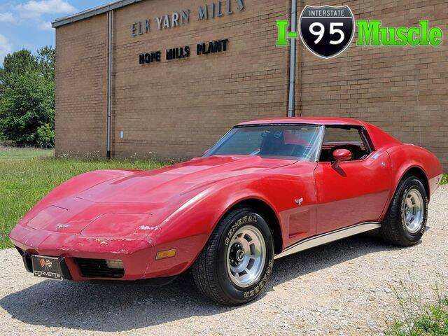 1977 Chevrolet Corvette for sale at I-95 Muscle in Hope Mills NC