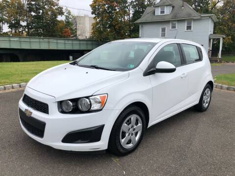 2014 Chevrolet Sonic for sale at Mula Auto Group in Somerville NJ