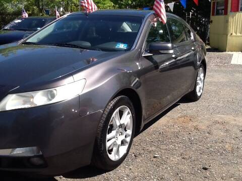 2009 Acura TL for sale at Lance Motors in Monroe Township NJ