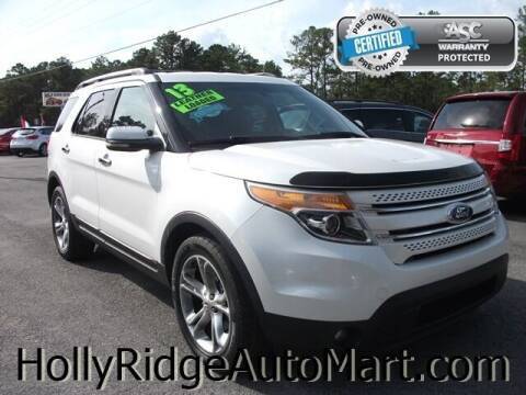 2013 Ford Explorer for sale at Holly Ridge Auto Mart in Holly Ridge NC