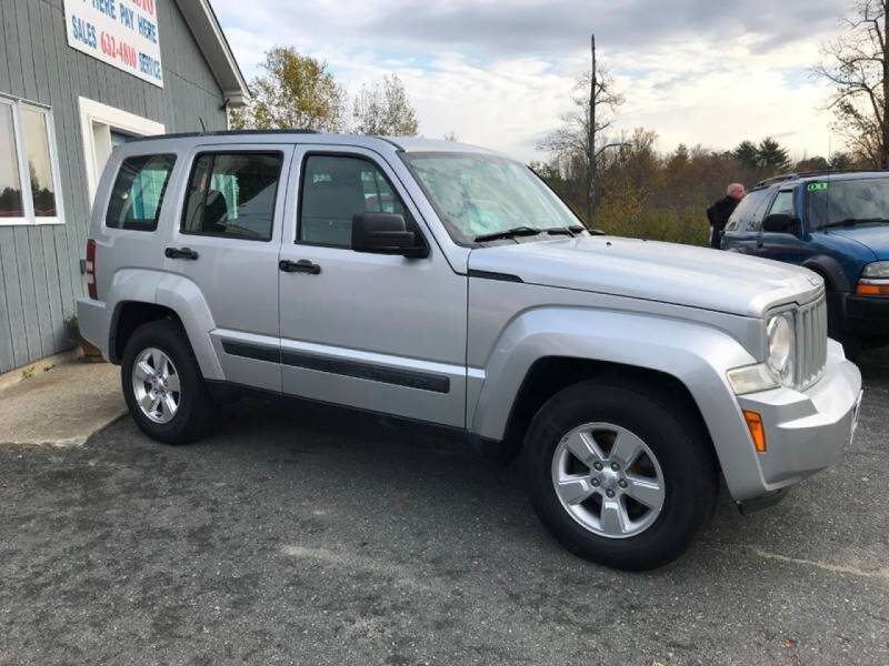 2012 Jeep Liberty for sale at Mascoma Auto INC in Canaan NH
