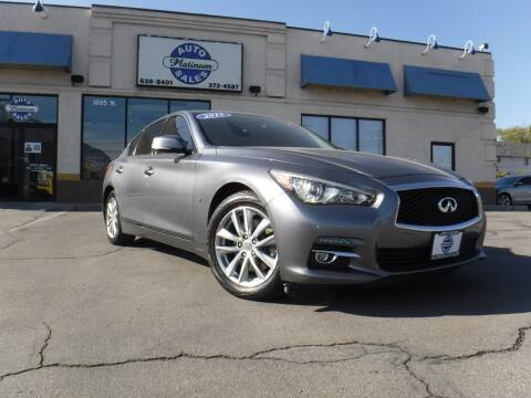 2015 Infiniti Q50 for sale at Platinum Auto Sales in Provo UT