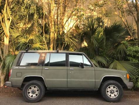 1990 Isuzu Trooper for sale at Classic Car Deals in Cadillac MI