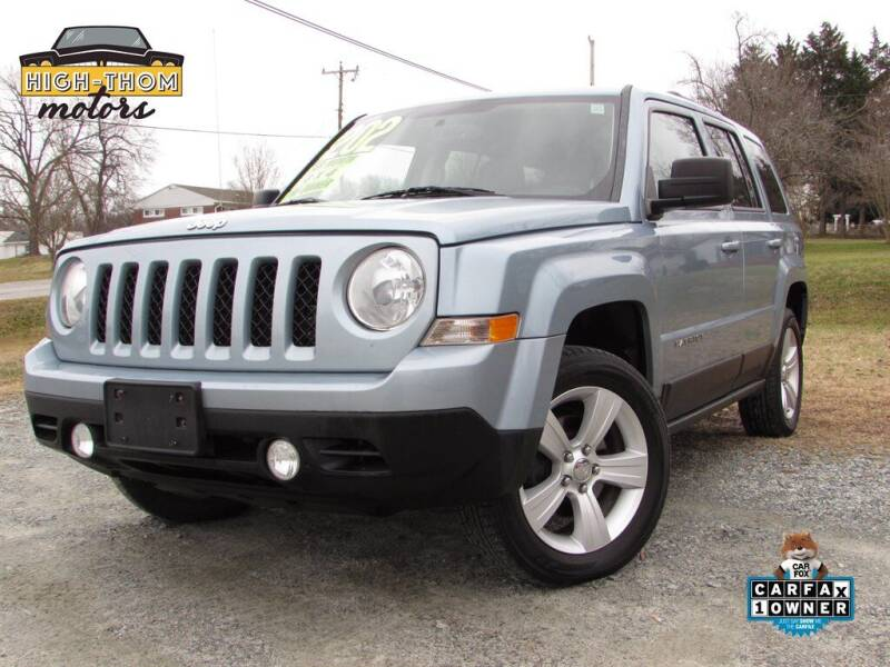 2014 Jeep Patriot for sale at High-Thom Motors in Thomasville NC