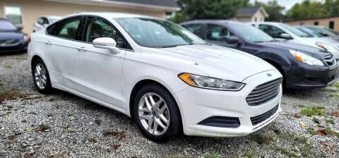 2013 Ford Fusion for sale at Dealmakers Auto Sales in Lithia Springs GA