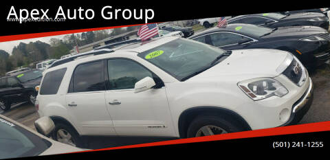 2007 GMC Acadia for sale at Apex Auto Group in Cabot AR