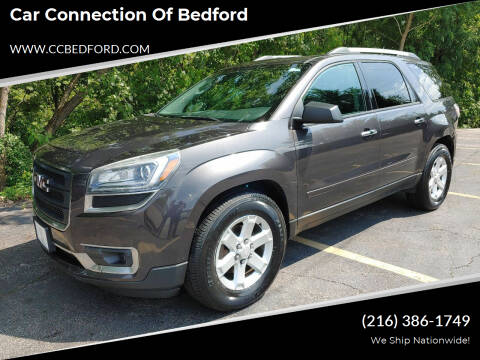 2013 GMC Acadia for sale at Car Connection of Bedford in Bedford OH