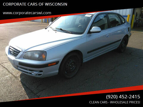 2005 Hyundai Elantra for sale at CORPORATE CARS OF WISCONSIN - DAVES AUTO SALES OF SHEBOYGAN in Sheboygan WI